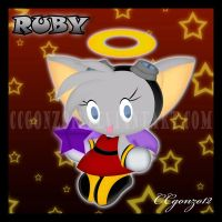 Ruby the Bat Chao by CCgonzo12
