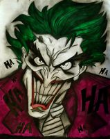 #Joker #whysoserious #drawing #everythingisbetterw by gianiang