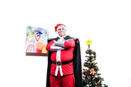 Christmas at Shadaloo - Street Fighter cosplay by robthez
