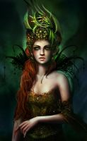The Dragon Queen by BrookeGillette
