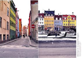 Winter in Copenhagen by mariamism