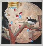 Puffins n Pills by Kayla-Noel