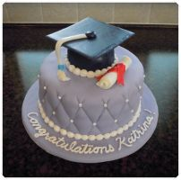 Graduation cake by cake4thought