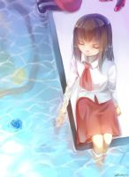 Ib- In the water by christon-clivef