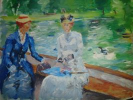 impressionist, ladys day out by ubertattooist