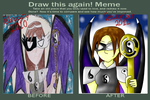 Before and after meme- Yeng by luxiavideogamer11