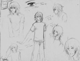 Character Design: Greg Freud by LazySensei