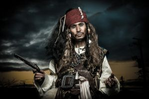 Pirates of the Caribbean's cosplay by SanetomoIjuin