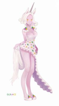 Unicorn Old lace by 01gram