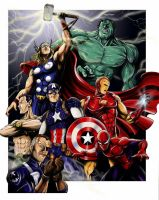 Marvel's mightiest by jlonnett