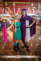 Dragon Quest V The heavenly Bride, Bianca and Hero by AsakuraYumiChan