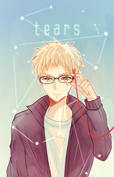 hq: tears [tsukishima side] by califlair