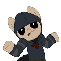 Shrugging My Little Hunter by Super-Zombie