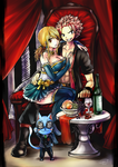 NaLu ... and Happy! by LeonStar123