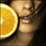 Orange juice by Lucem