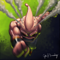 Kid Buu by master-funk-9000