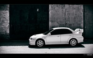 Evo VI in BW by hellpics