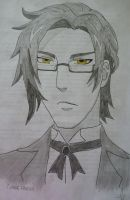 Claude Faustus by CheshireGrinMoon