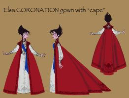 Evil Elsa Coronation Design by Mauridiaz-Trans