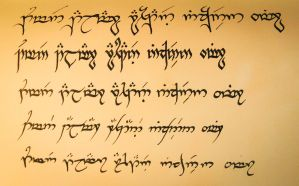 Elvish writing styles by Nirnaeth-en-Ainur