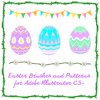 Springtime brushes and patterns by shereelouise