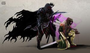 Champion of Boethiah by psypher101