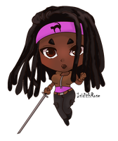 Michonne by IsidithRose