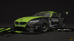 Bmw Z4 GT3 Monster Studio1 by RJamp