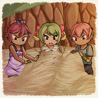 Sand Castle Kiddos by Icy-Snowflakes