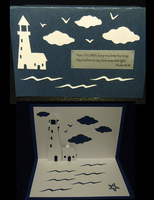 Lighthouse card by caseva