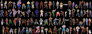 Complete Street Fighter rooster by PatrikSuccat