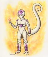 Frieza! by Bubble-Chubi