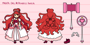 Princess Amelia Character Sheet by Nami-Tsuki
