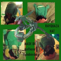 Rayquaza Hat by CupcakeCrafty