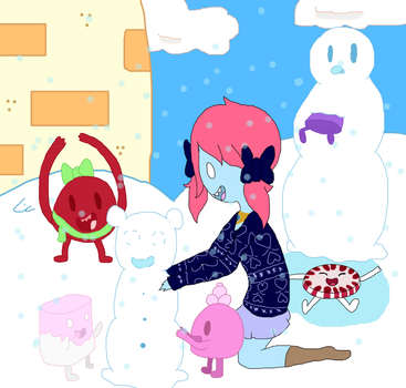 Playing With Candy Children by annabell22