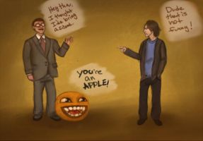 Windows and Orange vs Apple by LaughingSkeleton