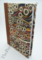2012 Diary - marbled paper 1 by ThePressGang-ink