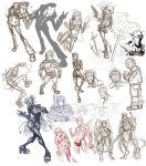 May 31st Sketch Dump by m-t-copyright