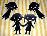 Soul Eater Shadow Stickers by 13anana