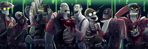 TF2: Zombie Fortress 2 by DarkLitria