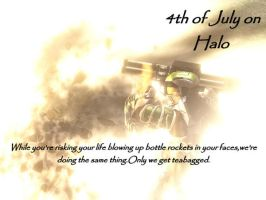 4th of July on Halo by HylianForrunner