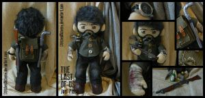The Last of Us: Joel Plush by StitchedAlchemy