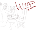 WIP- Commission for Ai-Rin by BlissfulMelody