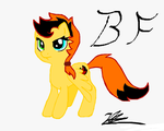 MLP OC: Black Fire by Nekoichi379