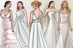 Fashion Illustration - Bridal 2009 by kitsuneko