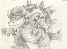Realistic Bowser by Koopa-Master