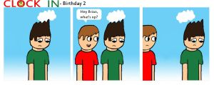 Birthday Pt.2 by clockincomics