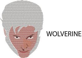 Wolverine Typed Face by mca2008