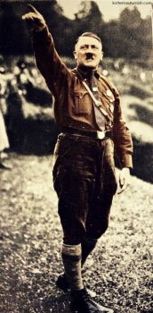 Adolf Hitler (my colourization from tumblr) 3 by Julia-Koterias