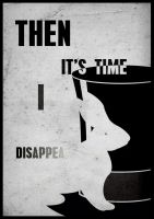 Metallica's I Disappear song poster by GreGfield